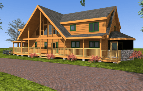 Chilhowee Log Home