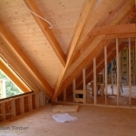 Valley Rafter Beam Loft Area